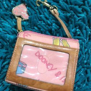 Dooney & bourke vintage coin id wallet